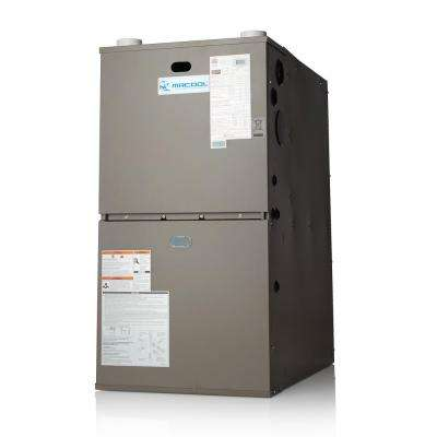 93% AFUE 80,000 BTU Multi-Position 2-Stage Multi-Speed Gas Furnace with LP Kit