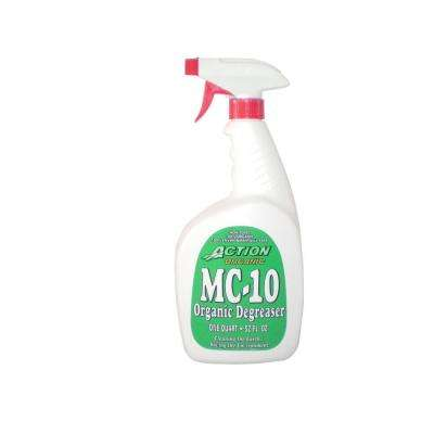 ACTION ORGANIC 32 oz. Bottle with Sprayer Organic All-Purpose Cleaner and Degreaser (at 50% Concentrate)