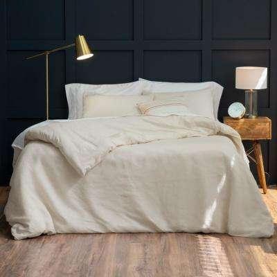 The Relaxed Linen Cotton Duvet Set