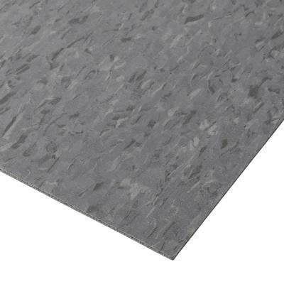 Imperial Texture VCT 12 in. x 12 in. Charcoal Standard Excelon Commercial Vinyl Tile (45 sq. ft. / case)
