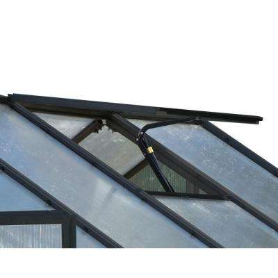 Replacement Black Finish Roof Vent with Auto Opener