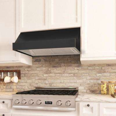 1200 Cfm Under Cabinet Range Hood In Oil Rubbed Bronze With Copper