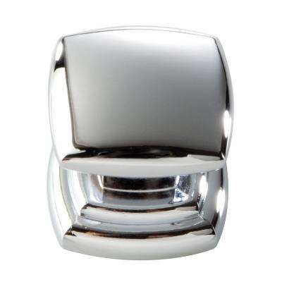 1-1/4 in. Chrome Cabinet Knob