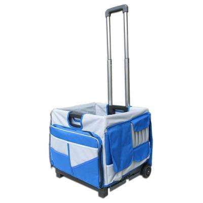 Pack-N-Roll 17 in. Foldable Cart 48-Pocket