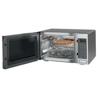 Profile 1.5 cu. ft. Countertop Convection/Microwave Oven in Slate, Fingerprint Resistant