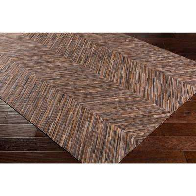 Foxcote Brown 2 ft. x 3 ft. Area Rug