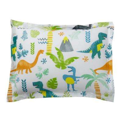 Giant Dinos 200-Thread Count Cotton Percale Sham