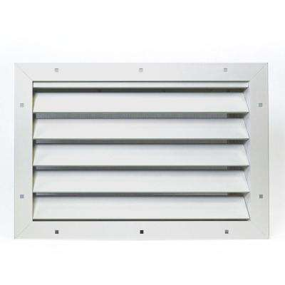 2.75 in. x 12 in. x 17.5 in. Aluminum Garage Door Vent 2 Pack