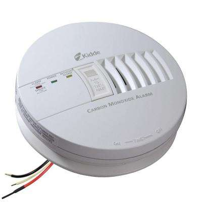 Hardwired 120-Volt Inter-Connectable Carbon Monoxide Alarm with Battery Backup