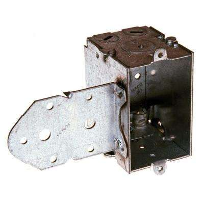 2-1/2 in. Deep Gangable Switch Box with NMSC Clamps and Long B Bracket Setback 5/8 in. (20-Pack)