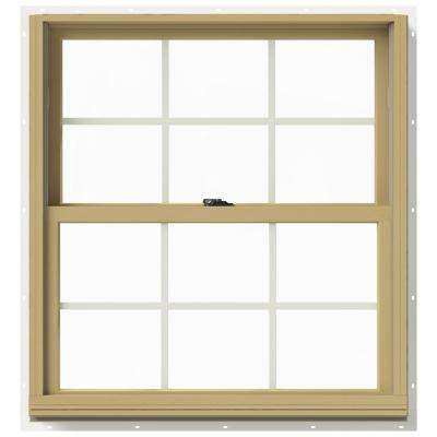 33.375 in. x 36 in. W-2500 Double Hung Aluminum Clad Wood Window