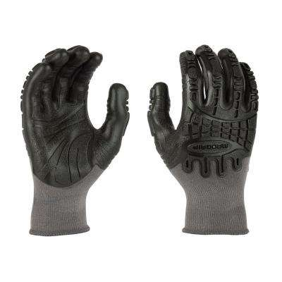 Thunderdome Impact Flex Glove in Grey/Black