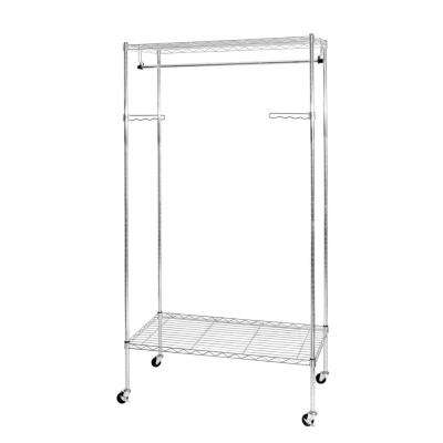 70.5 in. UltraZinc 2-Tier Garment Rack