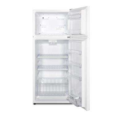 10.3 cu. ft. Frost Free Upright Top Freezer Refrigerator in White, ENERGY STAR