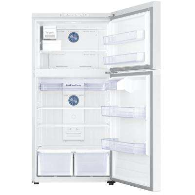21.1 cu. ft. Top Freezer Refrigerator with FlexZone Freezer in White, Energy Star, Ice Maker