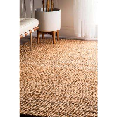 Hailey Jute Natural 12 ft. x 15 ft. Area Rug