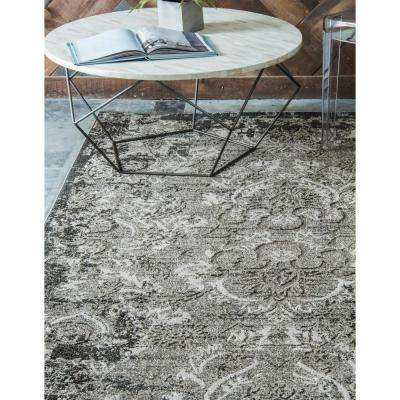 Indoor/Outdoor Manchester Light Gray 2' 0 x 6' 0 Runner Rug