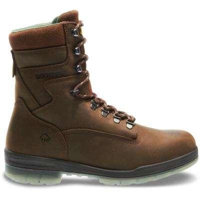 Men's I-0 Durashocks Brown Nubuck Leather Waterproof Boot