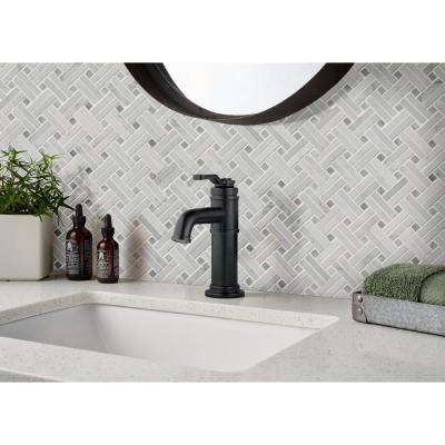 Carrara White Basket Weave 12 in. x 12 in. x 10mm Polished Marble Mesh-Mounted Mosaic Tile (10 sq. ft. / case)