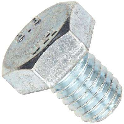 7/16 in. x 1 in. Zinc-Plated Grade 5 Hex Bolt (4-Pack)