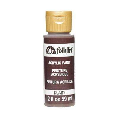 2-oz. Real Brown Acrylic Craft Paint