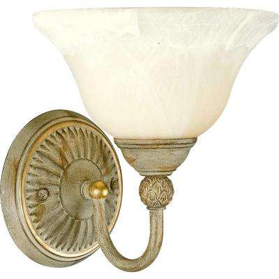 Savannah Collection 1-Light Seabrook Vanity Fixture
