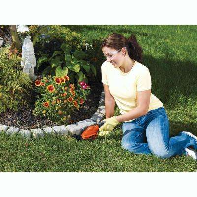 6 in. 3.6-Volt Lithium-Ion Cordless 2-in-1 Compact Garden Shears and Trimmer Combo with Rechargeable Battery and Charger