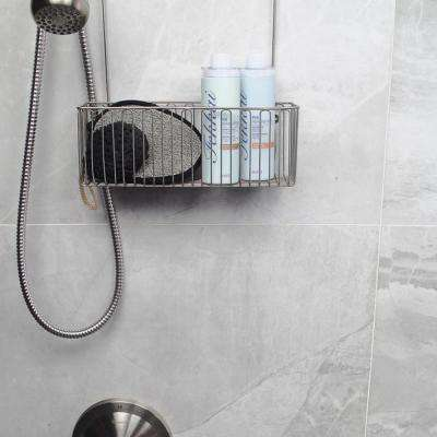 Jammu Gray 15 in. x 30 in. x 10mm Polished Porcelain Floor and Wall Tile (6 pieces / 18.16 sq. ft. / box)