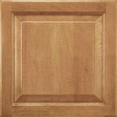14-9/16x14-1/2 in. Cabinet Door Sample in Alexandria Maple Spice