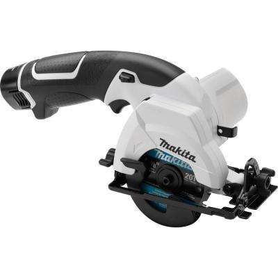 12-Volt Max Lithium-Ion 3-3/8 in. Cordless Circular Saw Kit