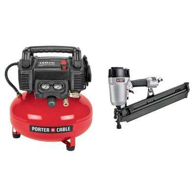 Framing Nailer and Compressor Combo