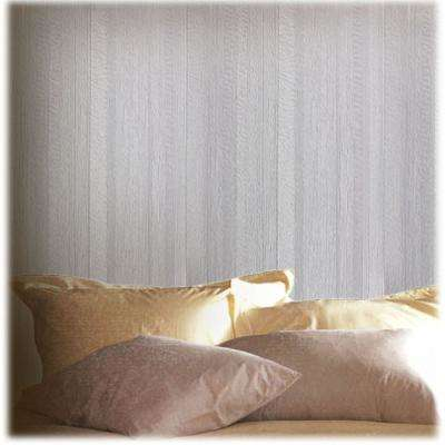 Silver Metallic Stripes Self-Adhesive Wallpaper Sample