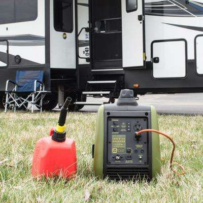 2,200/1,800-Watt Gasoline Powered Recoil Start Portable Digital Inverter Generator with Parallel Capability