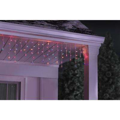 300-Light Multi-Color Icicle Lights