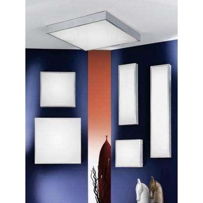 Idun 1 Matte Nickel Integrated LED Ceiling Light