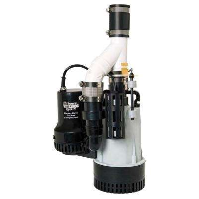 1/2 HP Big Combination Unit with Special Backup Sump Pump System