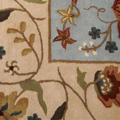 Antoinette Wembley Blue/Beige 10 ft. x 14 ft. Area Rug
