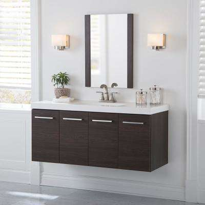 . Floating   Bathroom Vanities   Bath   The Home Depot