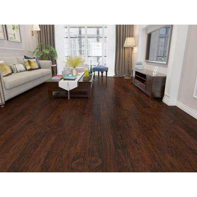 Mocha 1/2 in. Thick x 5 in. Wide x 48 in. Length Engineered Wood Flooring (26.68 sq. ft.)