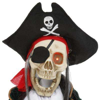 36 in. Animated Pirate