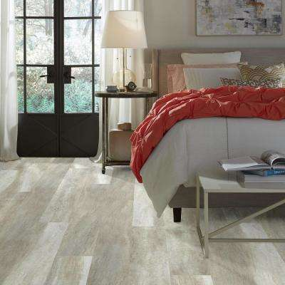 Jefferson 7 in. x 48 in. Beech Resilient Vinyl Plank Flooring (18.68 sq. ft. / case)