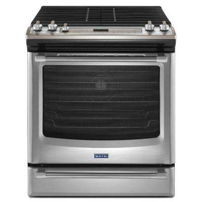 AquaLift 5.8 cu. ft. Gas Range with Self-Cleaning Convection in Stainless Steel