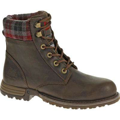 Kenzie Women's Bark Steel Toe Work Boots