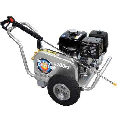 Aluminum Belt Drive 4,200 psi 4.0 GPM Gas Pressure Washer