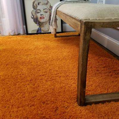 Bella Collection Orange 5 ft. x 7 ft. Area Rug
