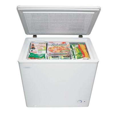 5.5 cu. ft. Manual Defrost Chest Freezer in White