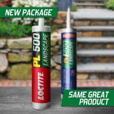 PL 500 10 fl. oz. Landscape Block Adhesive (12-Pack)