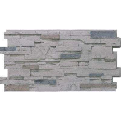 Stacked Stone #60 Cascade Canyon 24 in. x 48 in. Stone Veneer Panel (4-Pack)