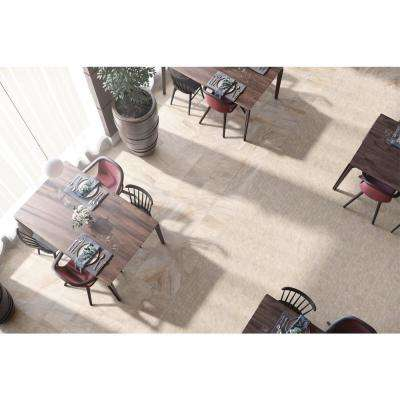 Caledonia Sand 12 in. x 12 in. x 9.5 mm Porcelain Mosaic Tile