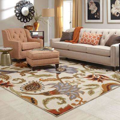 Townsend Tan 7 ft. x 9 ft. Area Rug